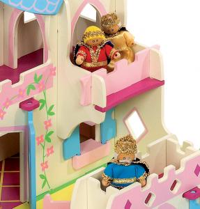 Palais de princesse en bois