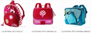 Un sac à dos Liz de la marque Lilliputiens. Hop, c'est parti avec ce sac à dos sur les épaules ! astucieux il comporte plusieurs espaces de rangement pour accueillir tout le nécessaire de sa petite propriétaire. A partir de 3 ans+