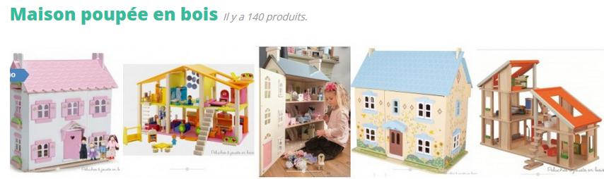 """La maison de poupée est un jouet attendue par toutes les petites filles de la terre au moment de leur anniversaire et a fortiori pour Noël ! Le cadeau idéal - Dès 3 ans c'est un véritable terrain de jeux qui permet à l'enfant d'exercer également sa motricité fine et qui encourage son imaginaire et sa créativité. C'est un cadeau qui fait toujours plaisir même aux plus grandes, jusqu'à 10 ans - car cet """"univers en miniature"""" que l'enfant se crée dans """"sa maison"""" de poupée est incomparablement évolutif dans le temps ! Incomparable aussi pour permettre à la fois l'évolution de l'enfant et pour s'adapter aussi très facilement au gré du changement de ses goûts ou de ses envies; la maison de poupée est un modèle en miniature pour l'enfant, pour mieux se construire et lui permettre de s'adapter plus vite. Le grand nombre d'accessoires pour les maisons de poupées est extrêmement étendu... à vous de les découvrir !"""