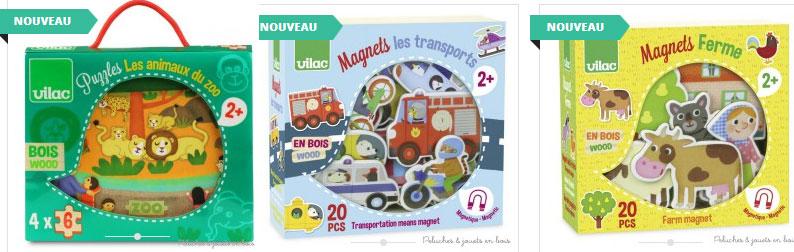 tout nouveau tout beau voici les nouvelles collections de jouets en bois signées Vilac et de grands designers