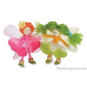 """e Kit """"créer un pays de fées"""" permet la fabrication d'1 maison et de poupées signé de la marque 4M. A partir de 8 ans+"""