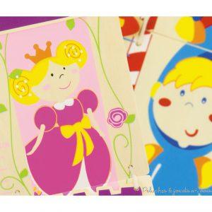 Cette toise princesse se fixe au mur et permet de se mesurer de 80 cm à 1m50. Dim : 12 x 88 cm. Normes CE.