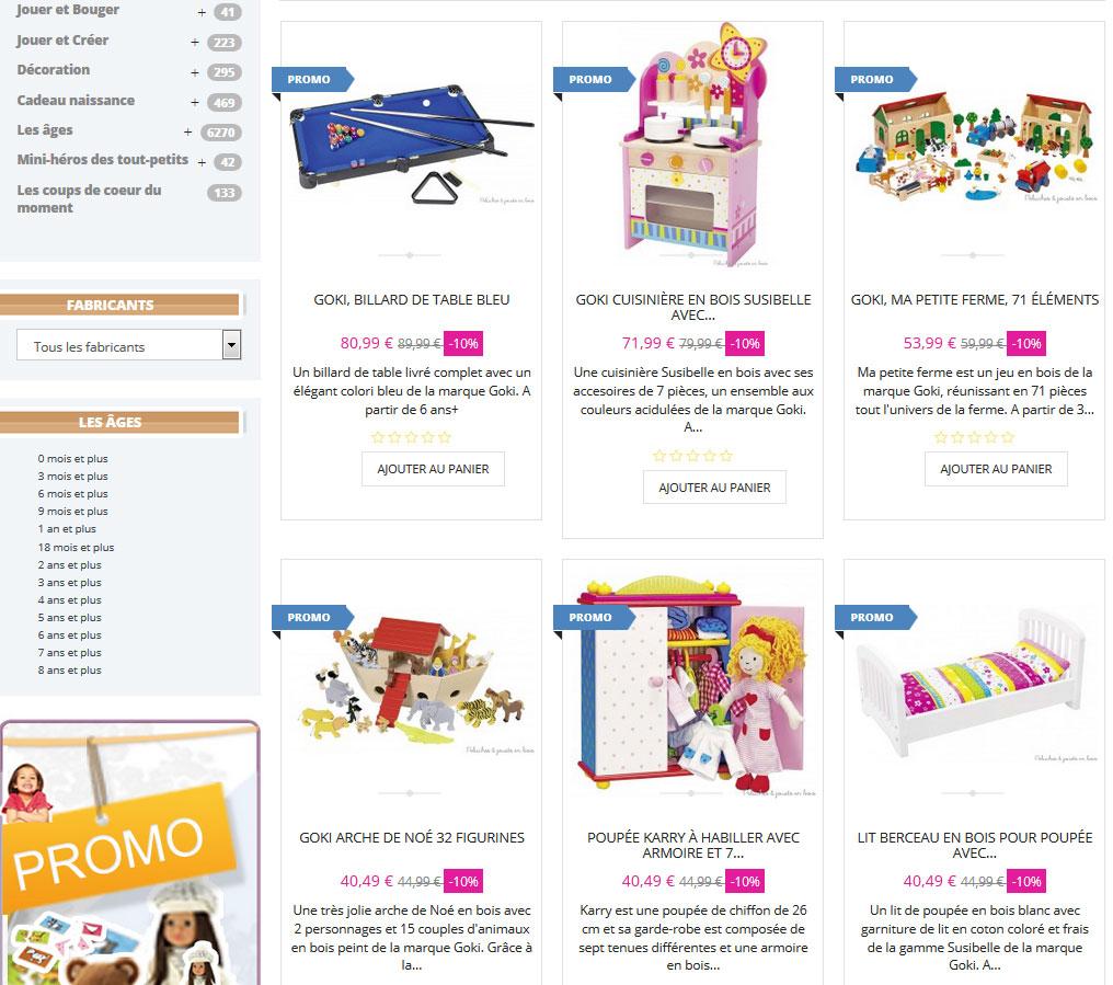 Plein de jouets amusants ?au design adorable ? des jouets de qualité au meilleur prix ?voilà la devise de GOKI