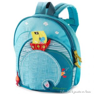 Un sac à dos Arnold de la marque Lilliputiens. Hop, c'est parti avec ce sac à dos Arnold sur les épaules ! astucieux il comporte plusieurs espaces de rangement pour accueillir tout le nécessaire de son petit propriétaire. A partir de 3 ans+