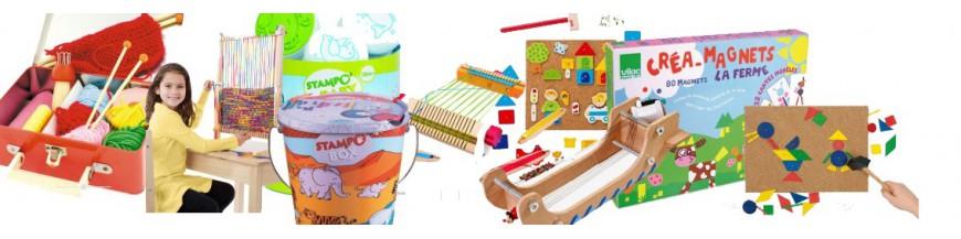metier a tisser en bois jouet artistique loisir cr atif. Black Bedroom Furniture Sets. Home Design Ideas