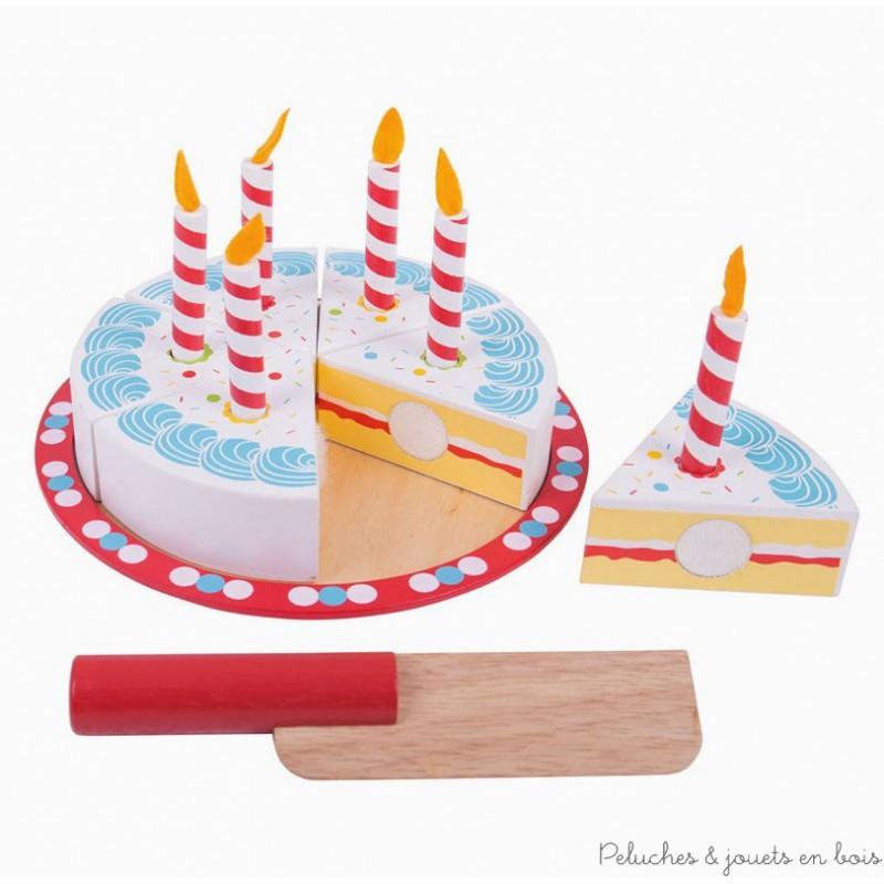 Gateau anniversaire bois