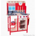 Cuisine multifonction jouet en bois Bigjigs BJ464