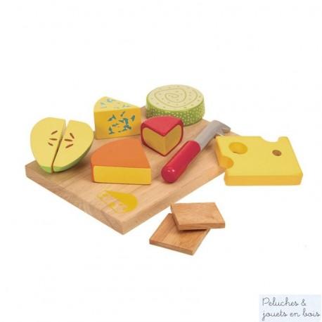 Bigjigs plateau de fromages 11 pièces