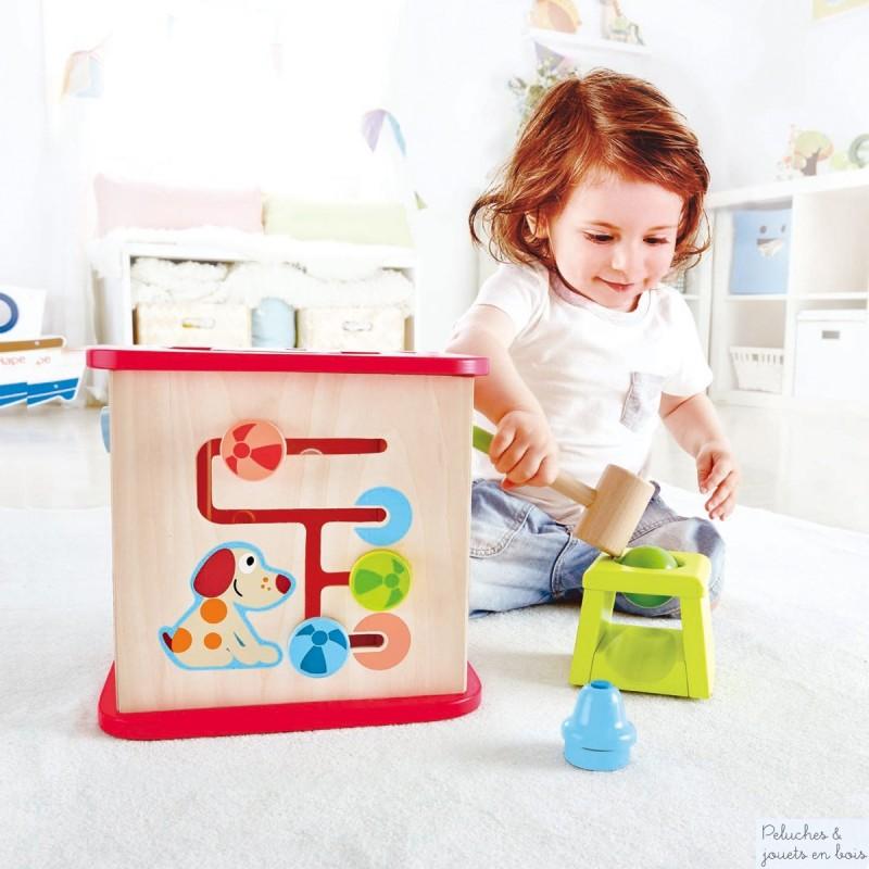 e1812 un cube d 39 activit s de la marque hape a partir de 1 an. Black Bedroom Furniture Sets. Home Design Ideas