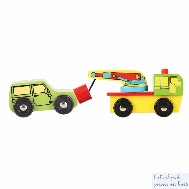 jouer aux petites voitures 9 v hicules jouet en bois de marque bigjigs. Black Bedroom Furniture Sets. Home Design Ideas