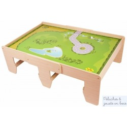 Table pour train compatible 15 circuits Bigjigs Train BJT171