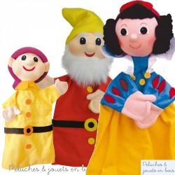 Marionnette à main personnage Le Nain Joyeux