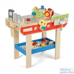Grand Etabli Atelier de bricolage en bois Tidlo T0069