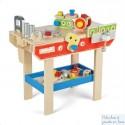 Etabli Atelier de bricolage en bois Tidlo T0069