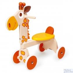 chariot de marche en bois centre d 39 activit fleur bigjigs bb113 1 an. Black Bedroom Furniture Sets. Home Design Ideas