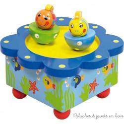 boîte à musique poisson