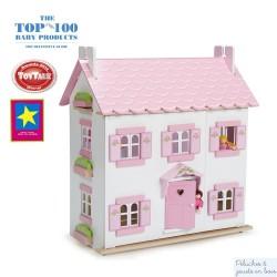Maison de Sophie meublée Sugar plum en bois Le Toy Van
