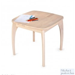 Table Junior en bois naturel Mobilier Enfant en bois massif Bigjigs