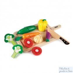 Légumes à découper jouet en bois Tildo T0215