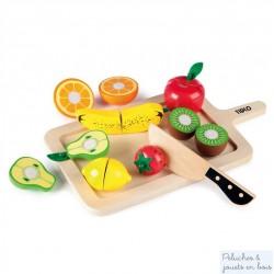 Fruits à découper jouet en bois Tildo T0216