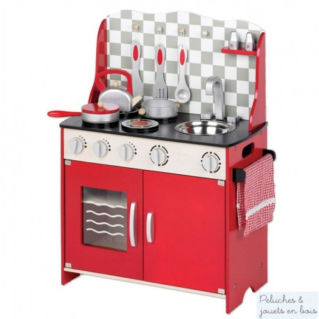 Cuisine multifonction jouet en bois Tidlo T0148