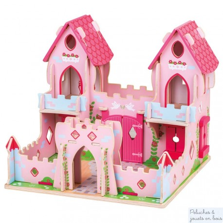 Palais de princesse en bois Conte de fée Bigjigs JT150