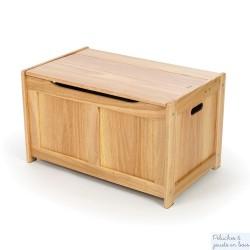 Coffre à jouets en bois naturel Tidlo