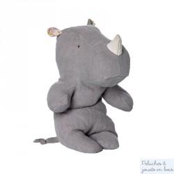 Doudou rhinocéros gris