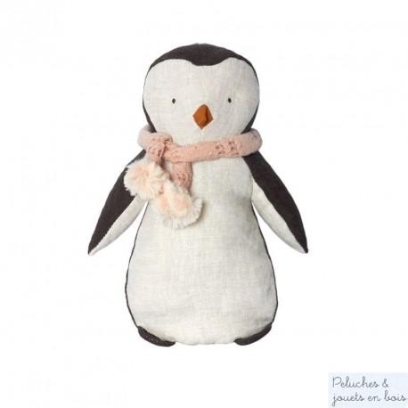 Doudou pingouin fille