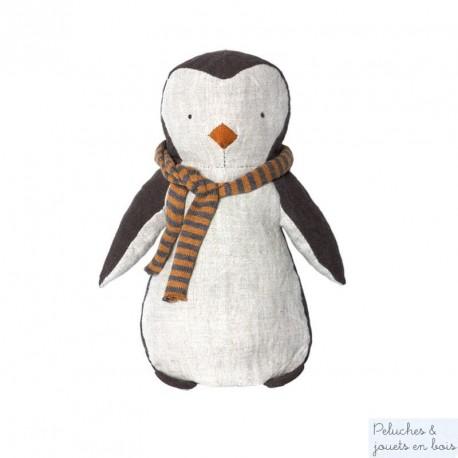 Doudou pingouin boy