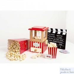 Machine à popcorn en bois