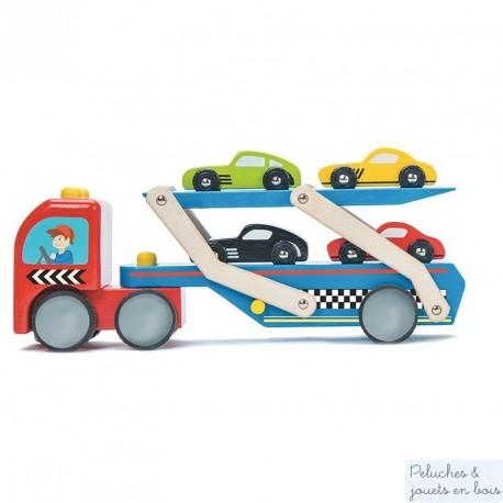 Camion de transport de voitures