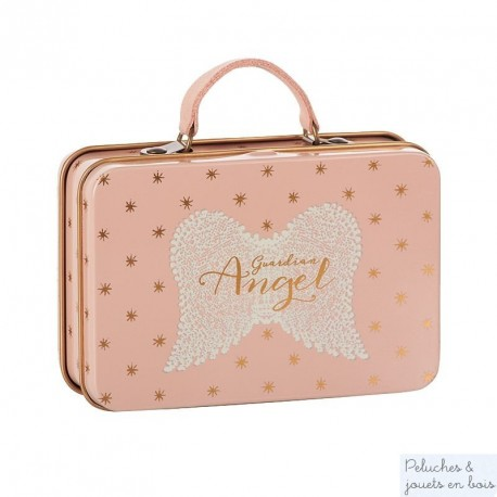 Mini valise ange or