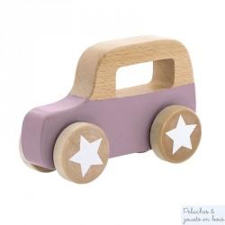Camion en bois pastel