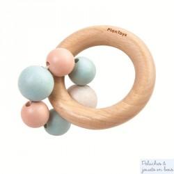Hochet perle pastel