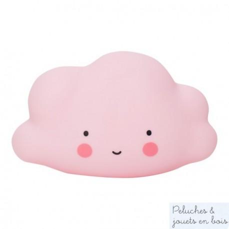 Mini veilleuse nuage rose