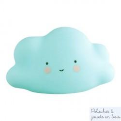 Mini veilleuse nuage bleu