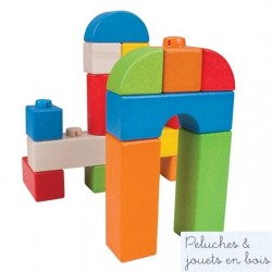 Click Blocks - Coloured - 100pce