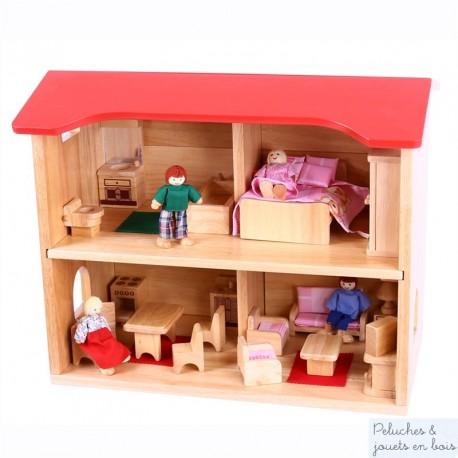 Maison de poupées complète