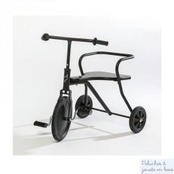 Tricycle Rétro noir - Dès 18 mois.