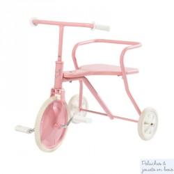Tricycle Rétro rose - Dès 18 mois.