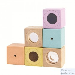 Blocs sensoriels pastels