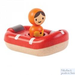 Jouet bain bateau de sauvetage