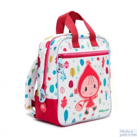 Lilliputiens, sac à dos Chaperon rouge