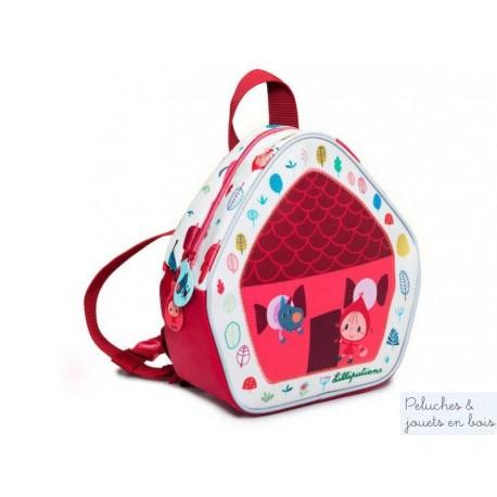 Lilliputiens, petit sac à dos Chaperon rouge