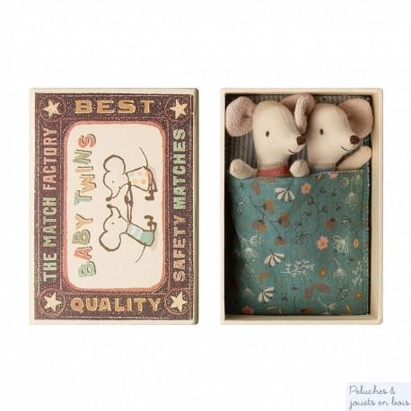 Boîte souris jumeaux