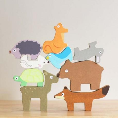 Tour des animaux de la forêt