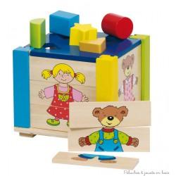 Grande boîte à formes -puzzle