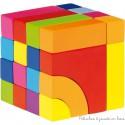 Goki Jeu de construction et jeu de mosaïque, avec sac en coton