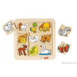 Puzzle Où est mon petit, 9 éléments